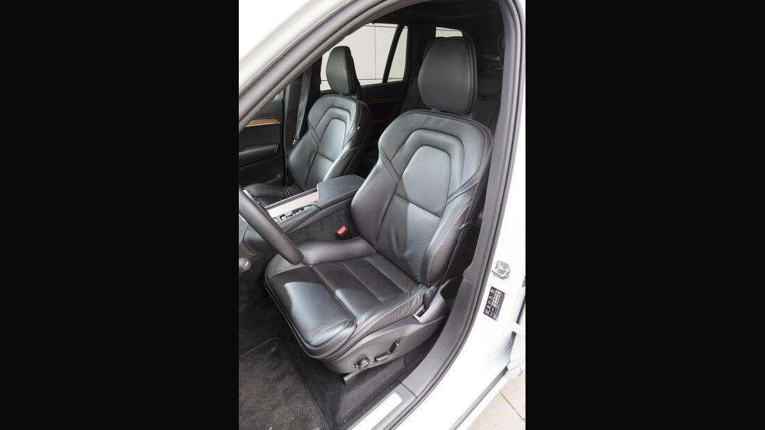 Volvo XC90 D5, Sitze