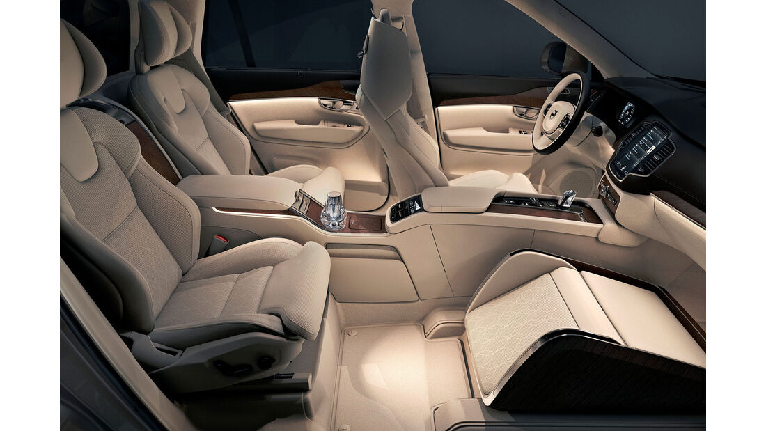 Volvo XC90 Excellence Lounge Console