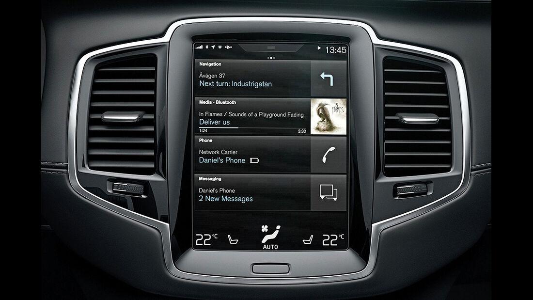 Volvo XC90 Infotainment- und Bedien-System