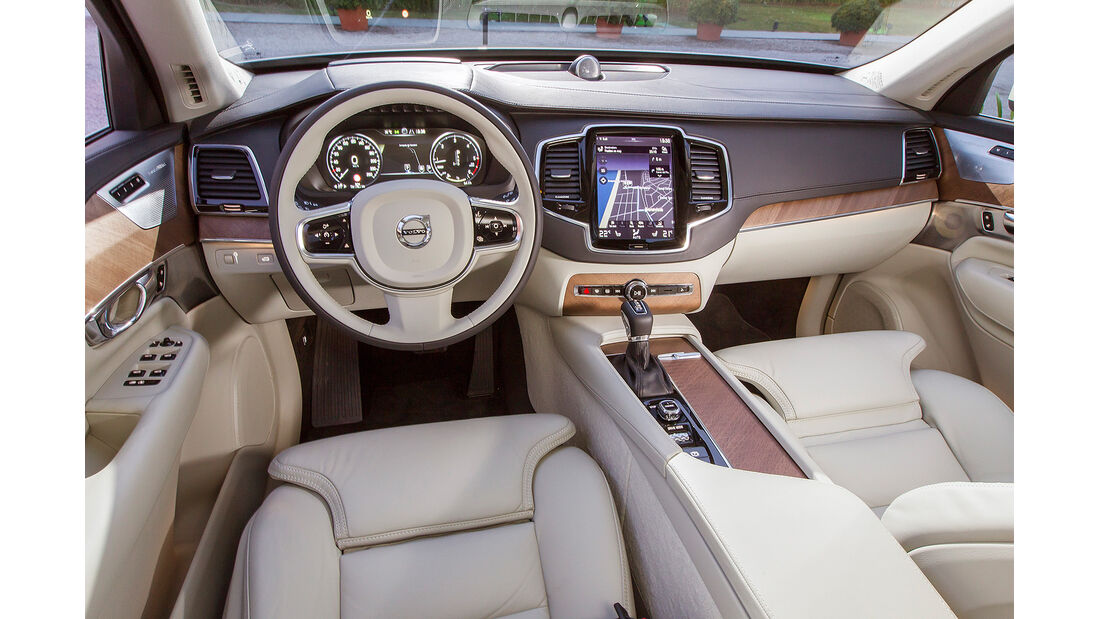 Volvo XC90, Innenraum, Cockpit