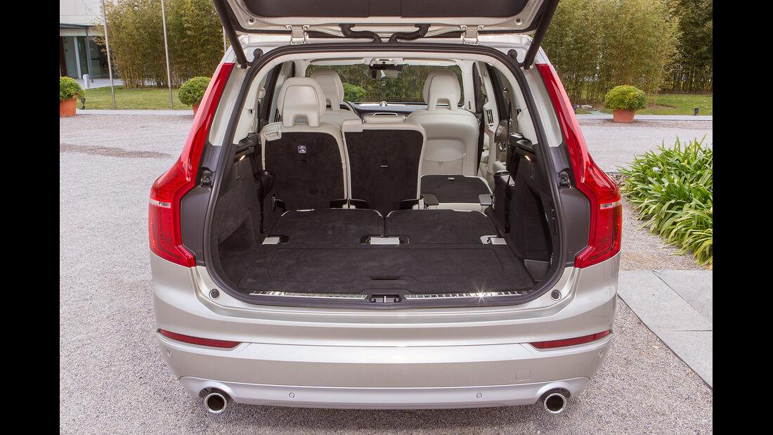 Volvo XC90, Kofferraum