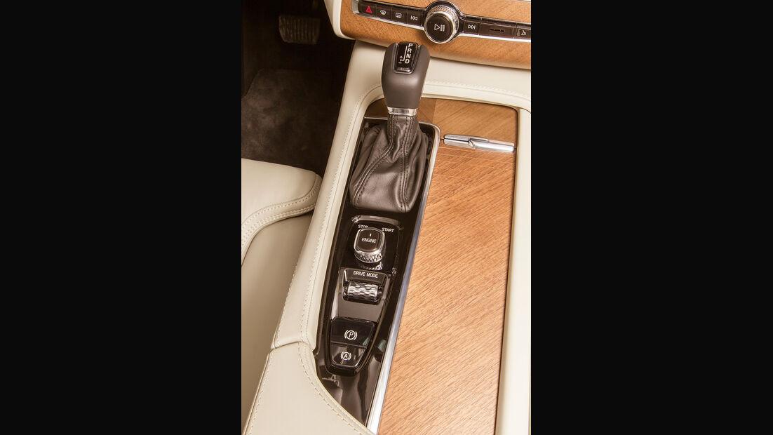 Volvo XC90, Mittelkonsole