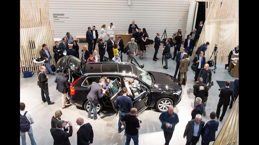 Volvo XC90 Präsentation