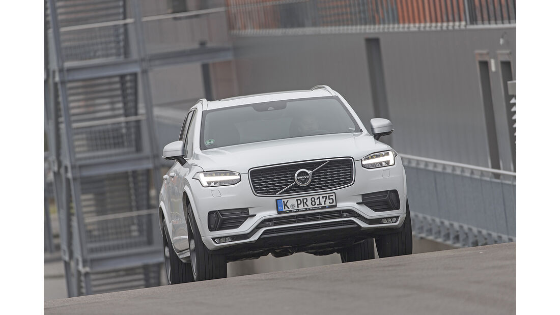 Volvo XC90 T6 AWD, Exterieur