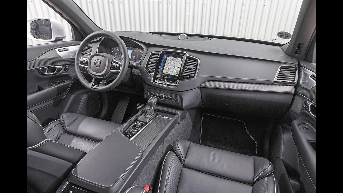 Volvo XC90 T6 AWD, Interieur
