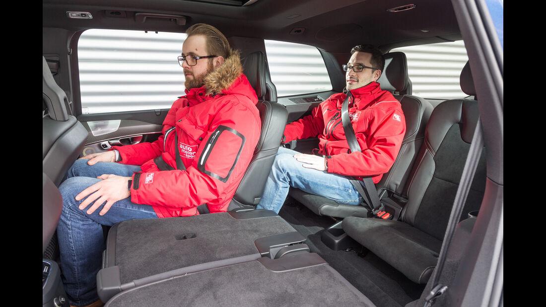 Volvo XC90 T8, Dritte Sitzreihe