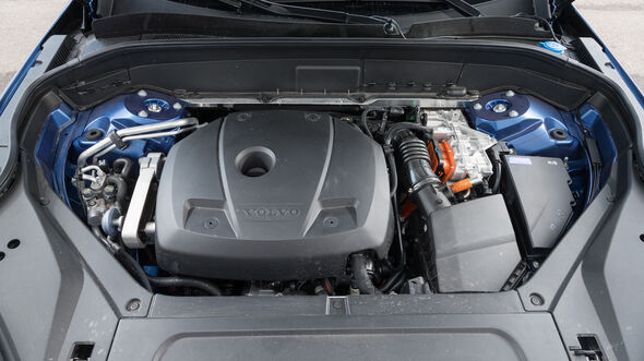 Volvo XC90 T8, Motor