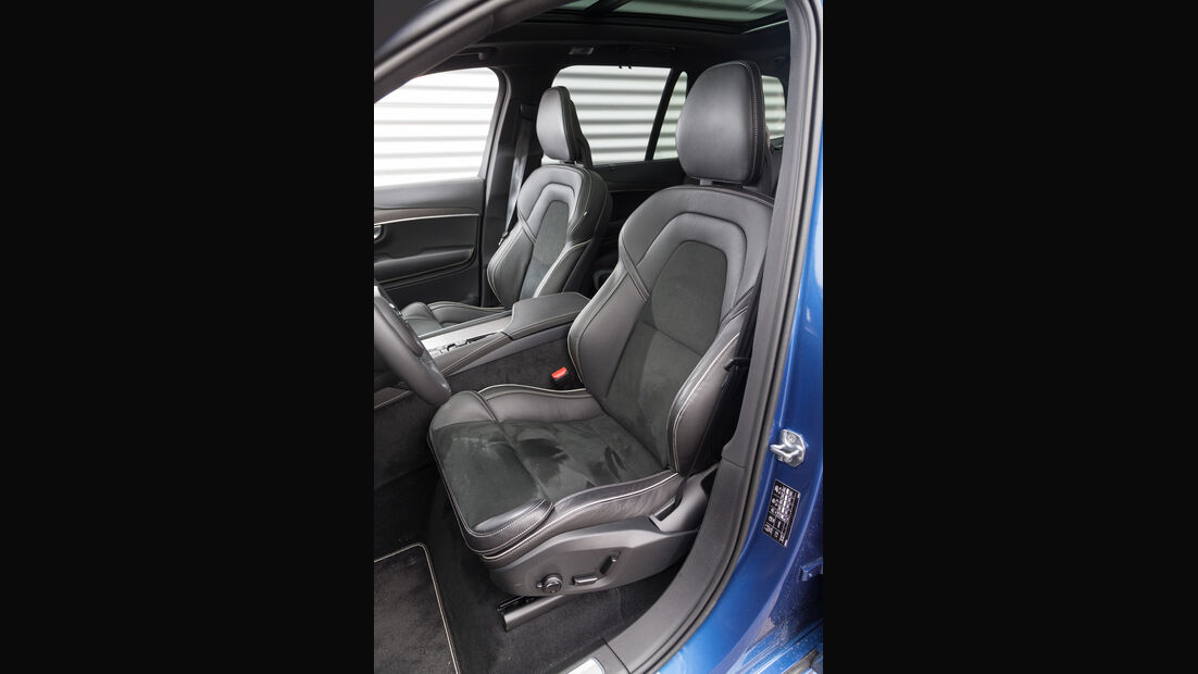 Volvo XC90 T8, Sitze