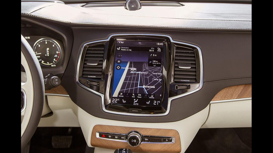 Volvo XC90, Touchscreen