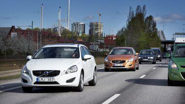 Volvo testet 100 selbstfahrende Autos in und um Göteborg.