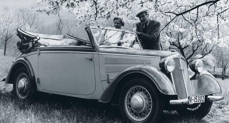 Vorkriegs-Klassiker, DKW F8