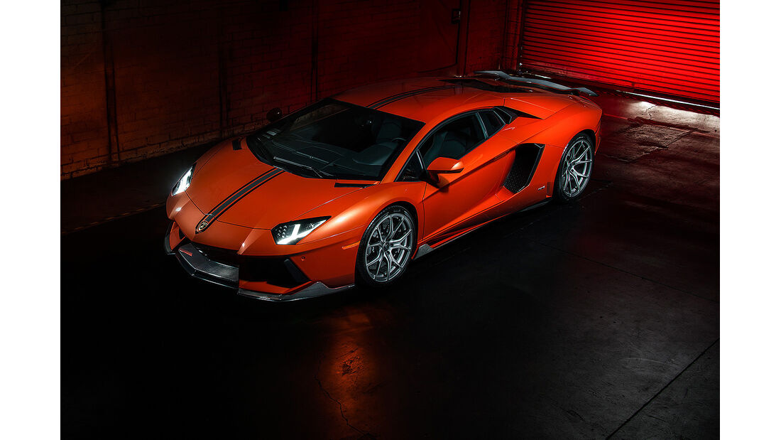 Vorsteiner Aventador-V Coupé, Lamborghini Aventador, Tuning