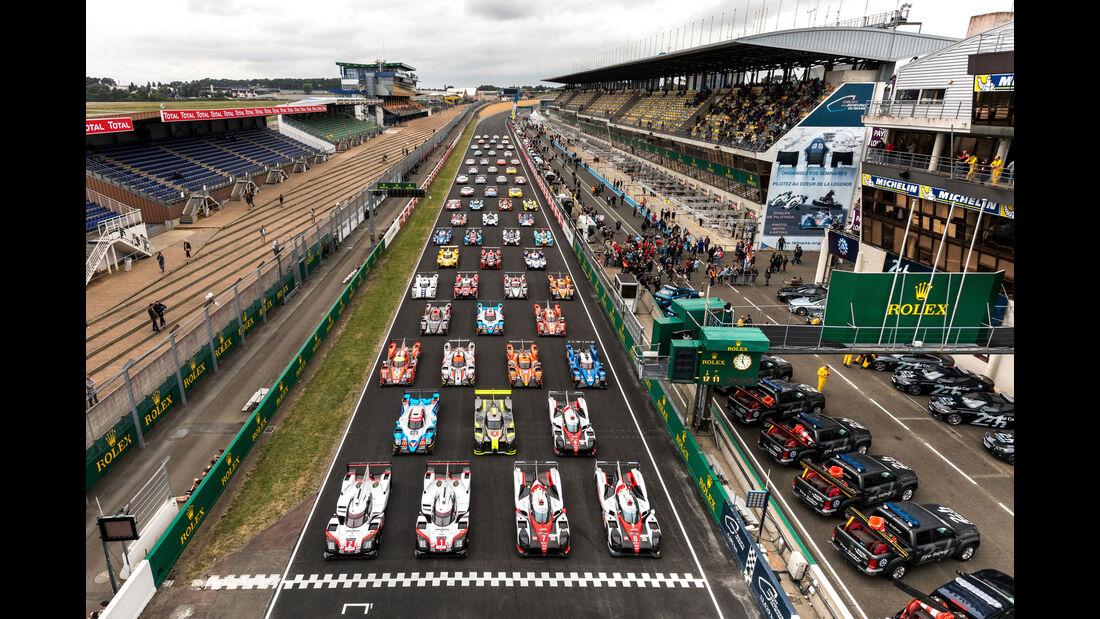 Vortest - 24h-Rennen Le Mans 2017 - Gruppenbild