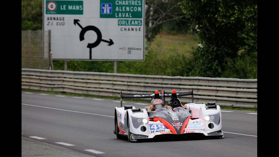 Vortest 24h-Rennen LeMans 2012