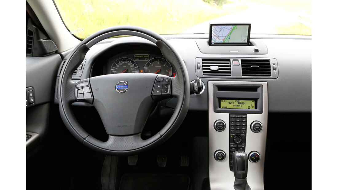 Vovo C30 Drive, Cockpit