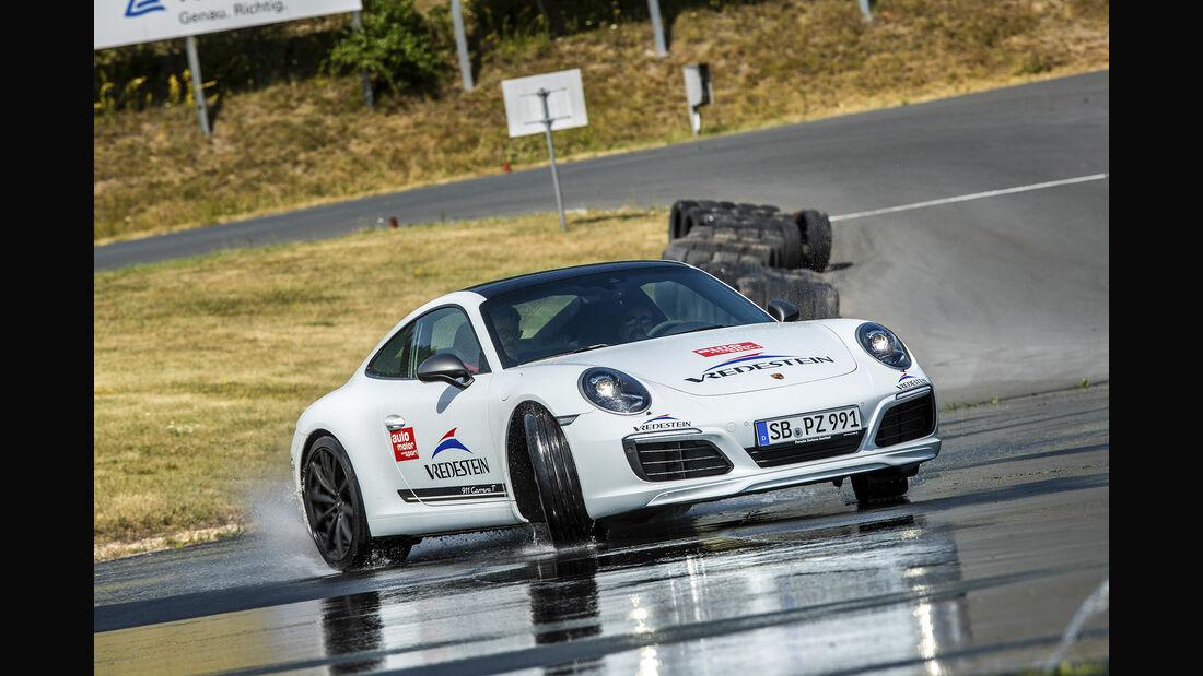Vredestein Leser Test Drive, Porsche 911
