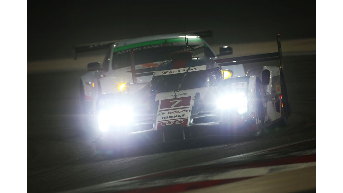 WEC Bahrain 2015 - Audi - Fässler - Lotterer - Tréluyer
