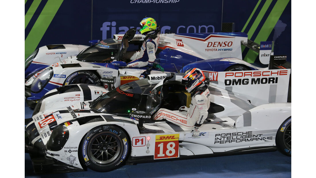 WEC Bahrain 2015 - Porsche - Dumas- Jani - Lieb