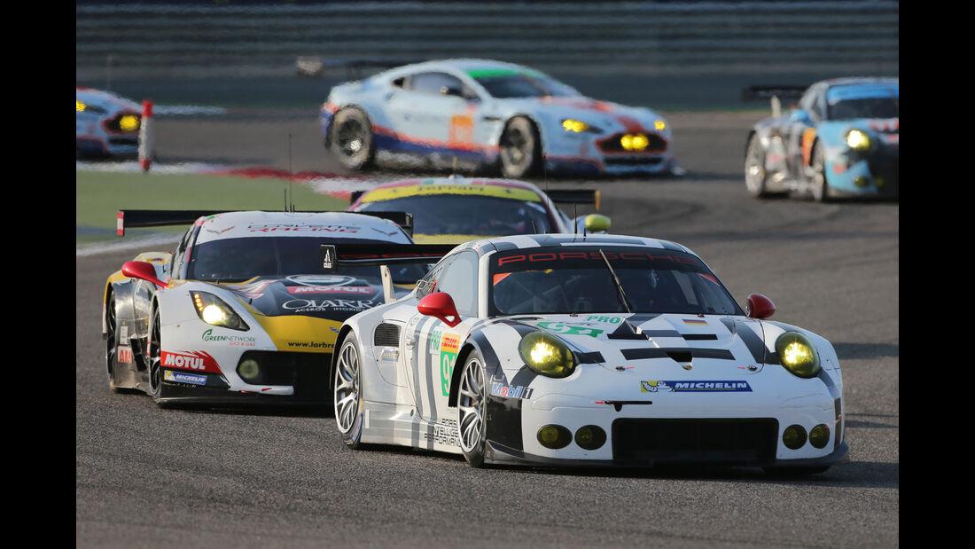 WEC Bahrain 2015 - Porsche - Pilet - Maakowiecki