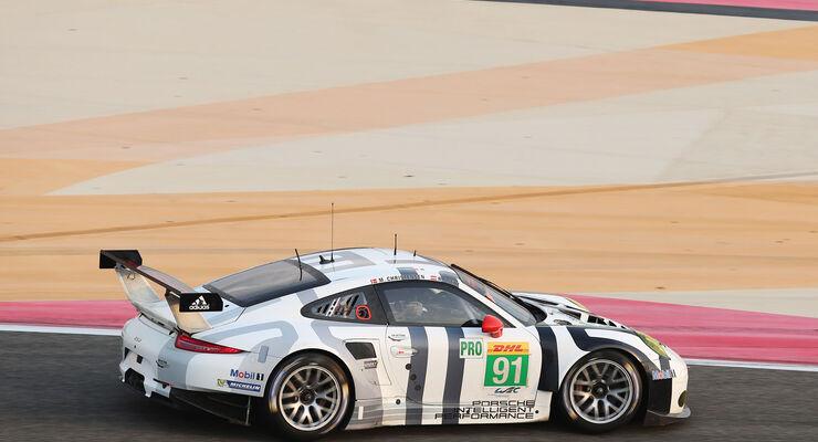 WEC Bahrain 2015 - Porsche - Richard Lietz