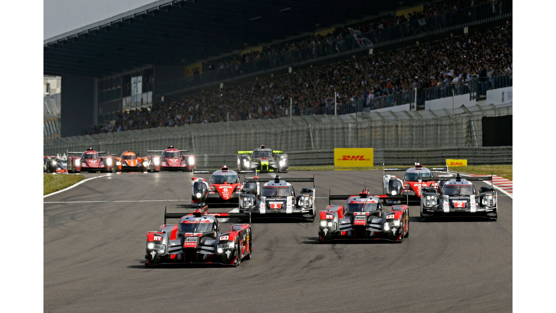 WEC - Nürburgring 2016 - Start - Sonntag - 24.7.2016