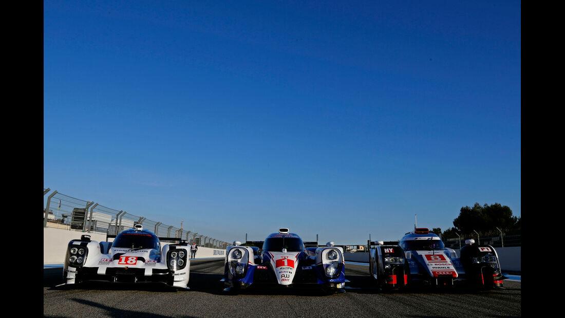 WEC - Paul Ricard - Le Mans-Prolog - 27. März 2015