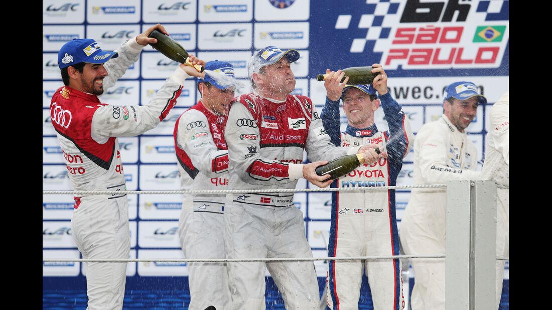 WEC - Sportwagen-WM - Brasilien - Audi - Tom Kristensen
