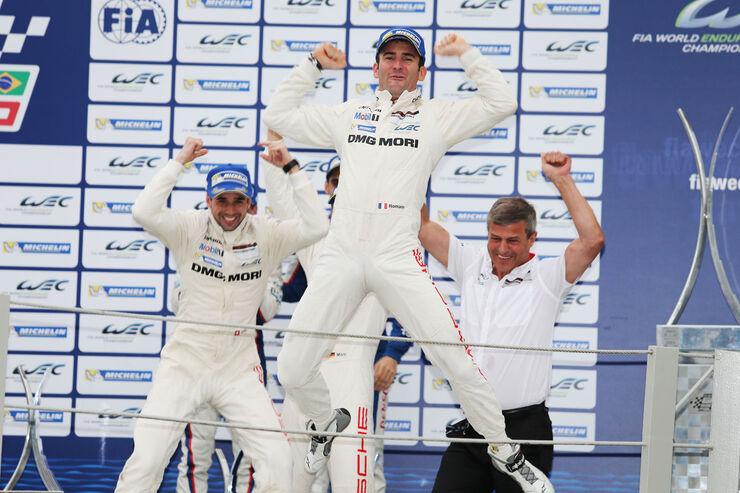 WEC - Sportwagen-WM - Brasilien - LMP1 - Porsche - Neel Jani, Marc Lieb, Romain Dumas