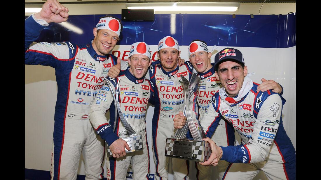 WEC - Sportwagen-WM - Brasilien - LMP1 - Toyota