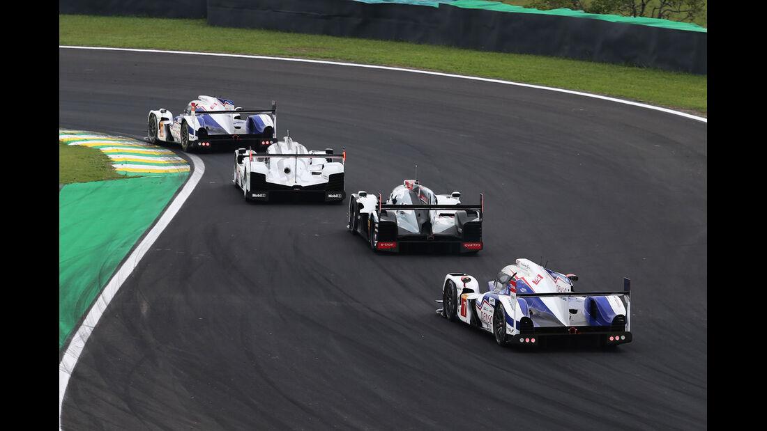 WEC - Sportwagen-WM - Brasilien - Porsche - Audi - Toyota