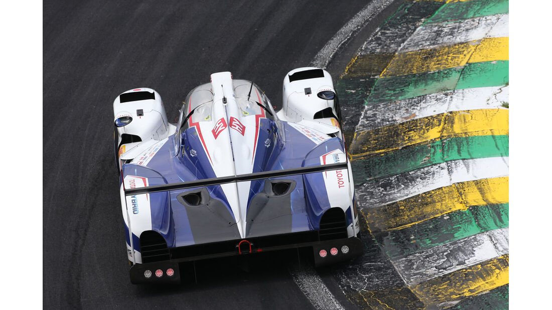 WEC - Sportwagen-WM - Brasilien - Toyota TS040 Hybrid