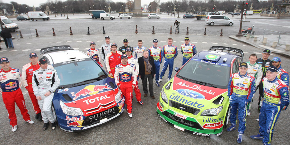 WRC 2010 Piloten