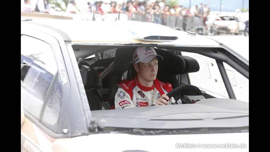 WRC Argentinien 2013, Hirvonen