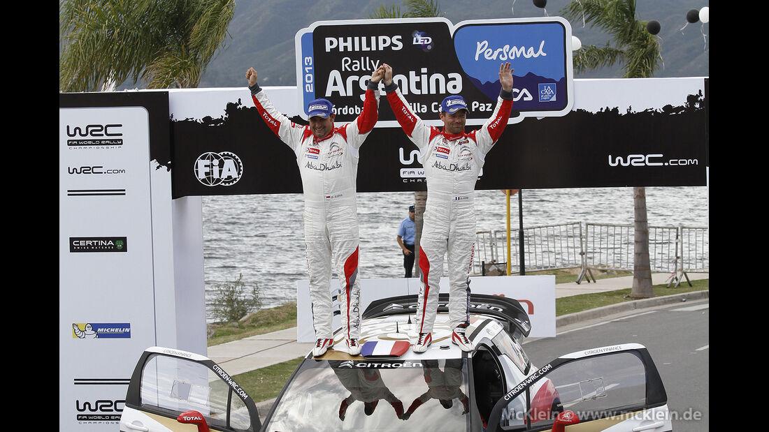 WRC Argentinien 2013, Loeb