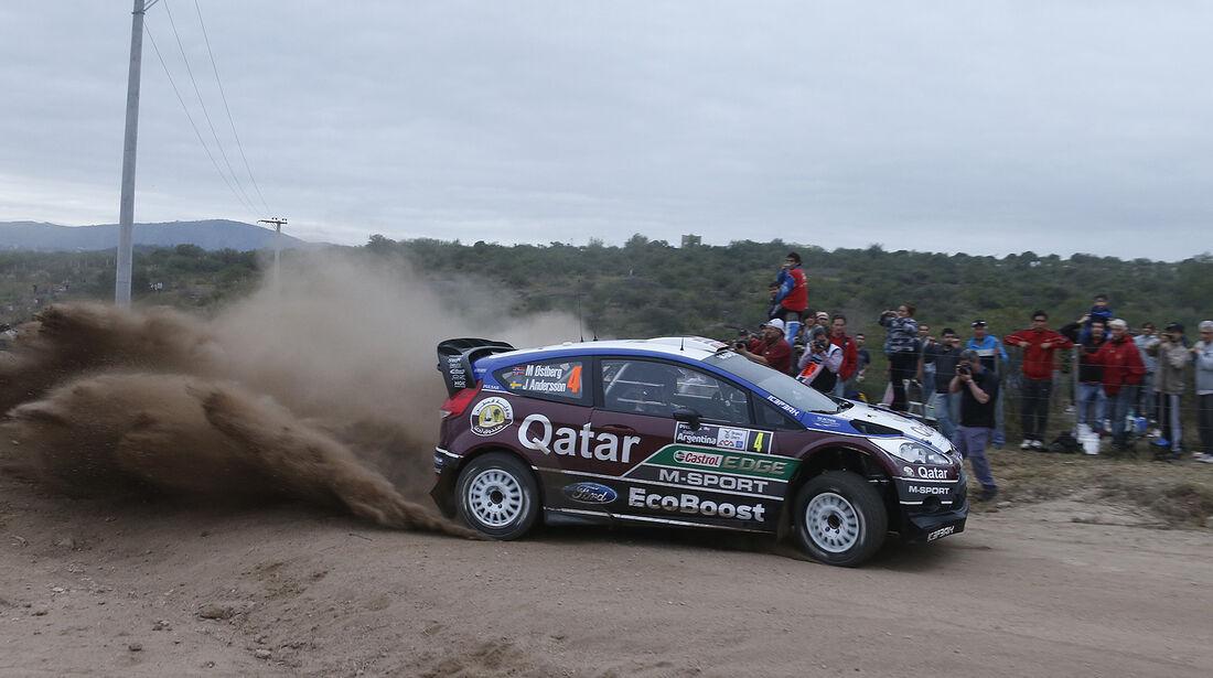 WRC Argentinien 2013, Ostberg