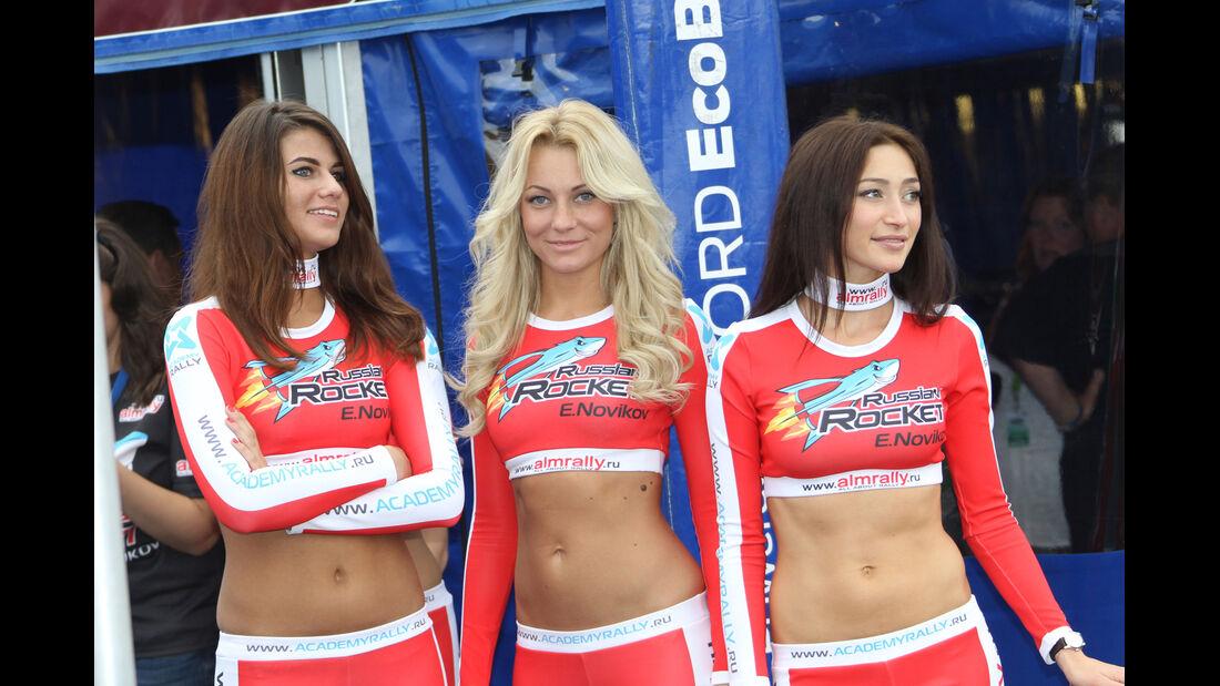 WRC Girls - Rallye Finnland - 2013