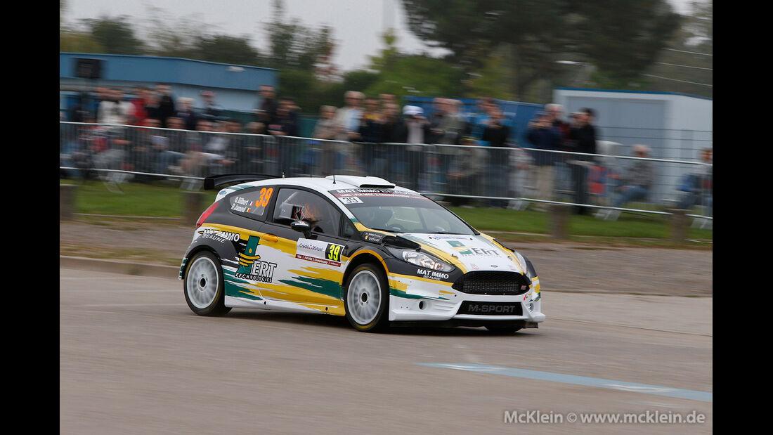 WRC II Rallye Frankreich 2014, Quentin Gilbert, Hyundai