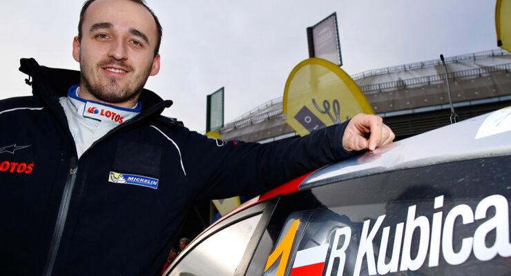 WRC Kubica Ford - Rallye