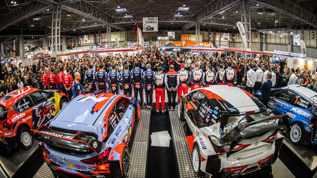 WRC Launch 2019 - Präsentation Birmingham