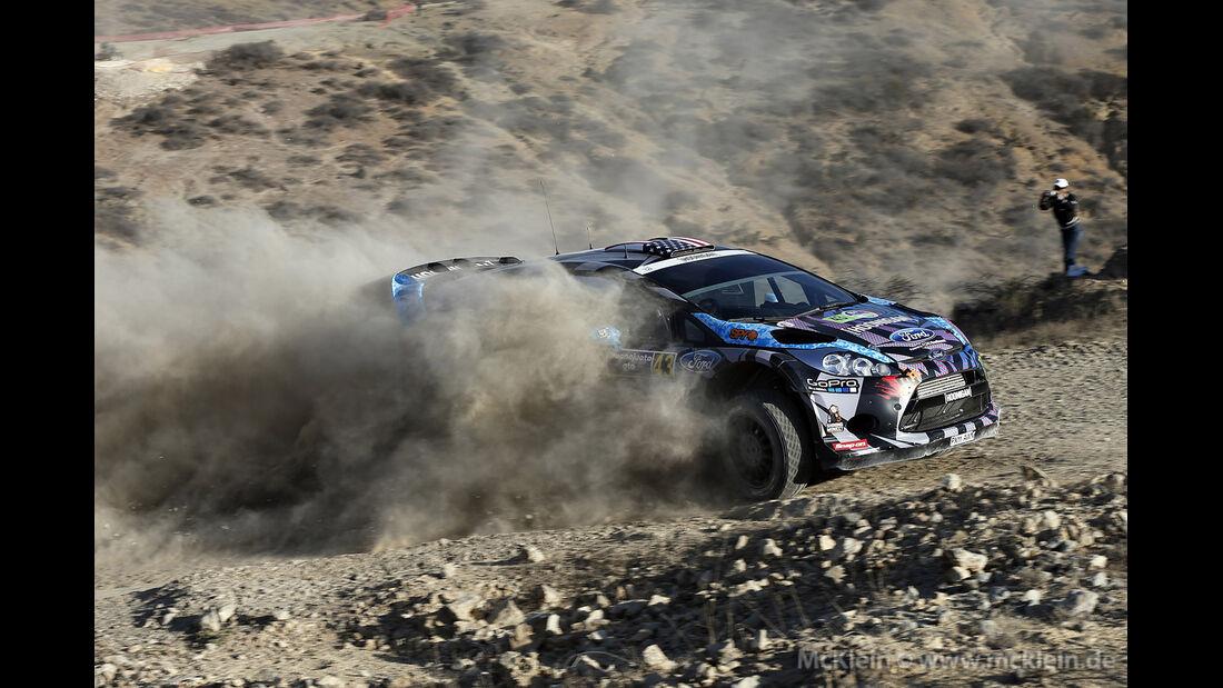 WRC Mexico 2013, Tag 2, Ken Block