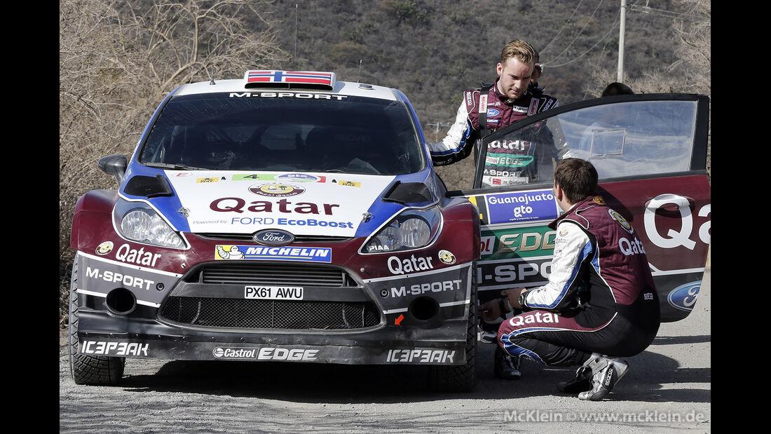 WRC Mexico 2013, Tag 2, Mads Östberg
