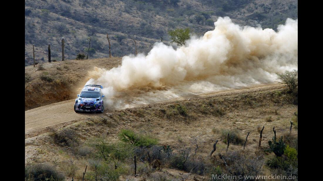WRC Mexico 2013, Tag1, Ken Block