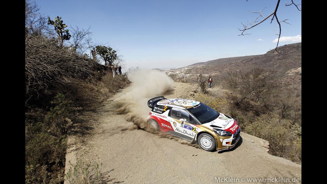 WRC Mexico 2013, Tag1, Mikko Hirvonen