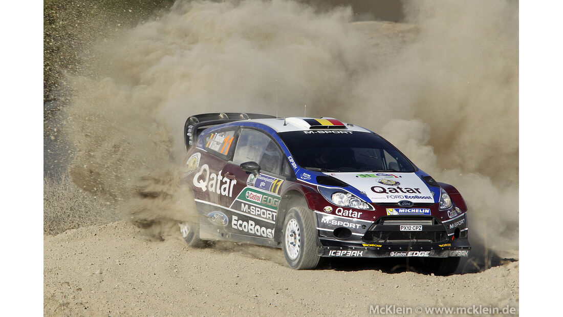 WRC Mexico 2013, Tag1, Thierry Neuville