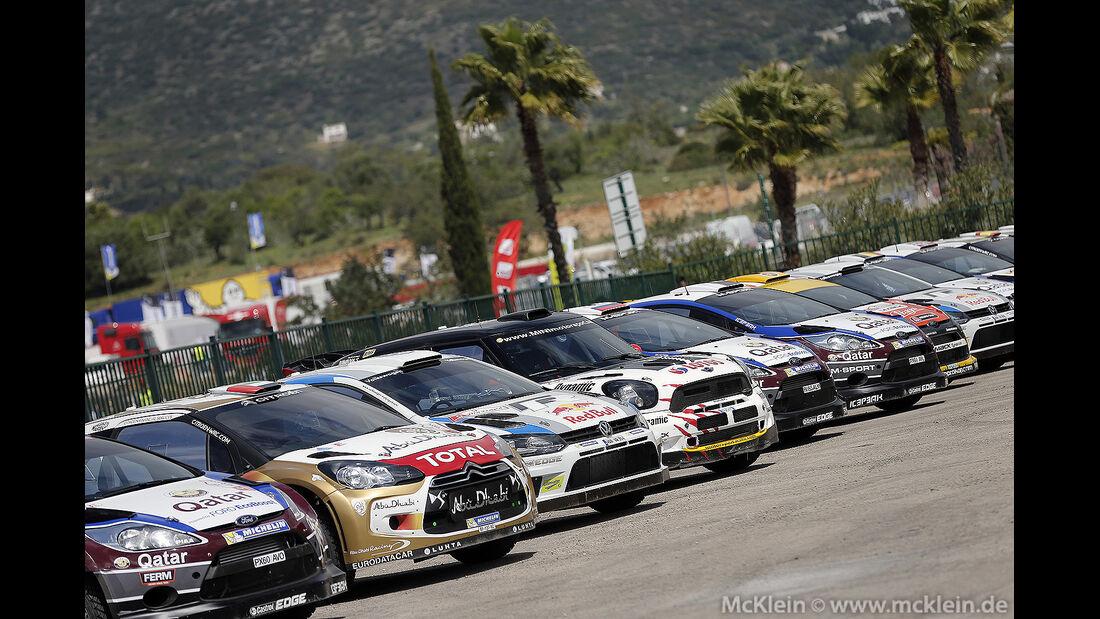 WRC Portugal 2013, Tag 1,