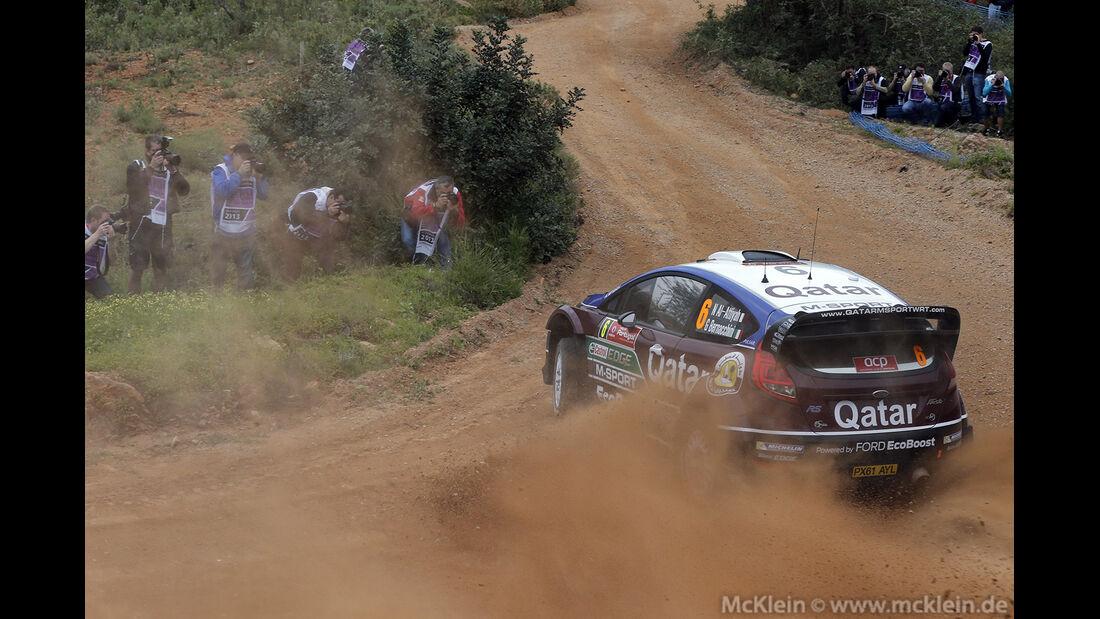 WRC Portugal 2013, Tag 2, Attiyah