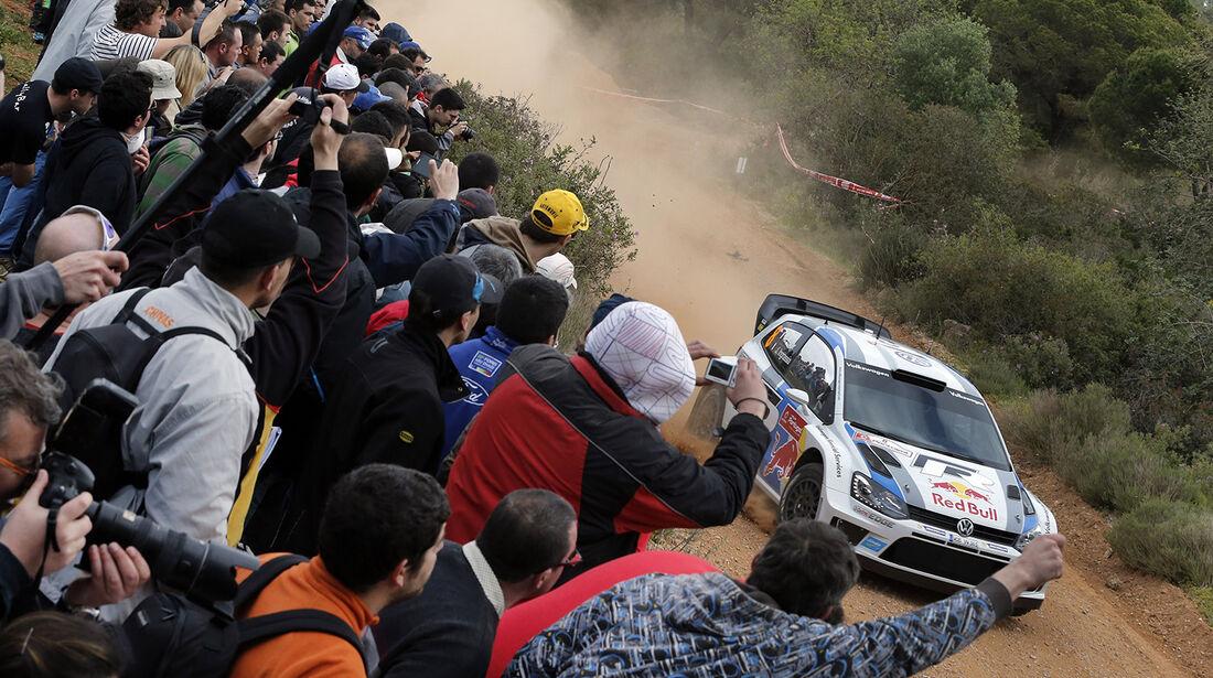 WRC Portugal 2013, Tag 2, Ogier
