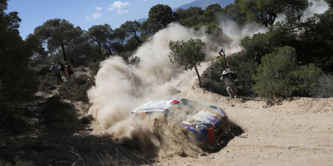 WRC Rallye Akropolis Griechenland 2013