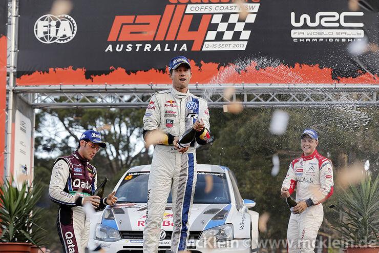 WRC Rallye Australien 2013