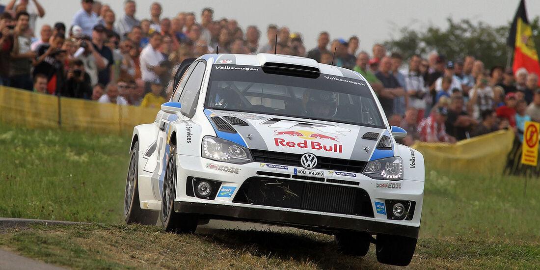 WRC Rallye Deutschland VW Polo Sebastien Ogier